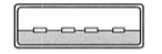 USB Type Aのイメージ